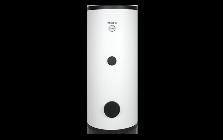 Vertical cylinder for heat pump