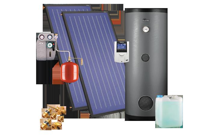 Capteurs solaires - Kits solaires